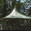 Paviljong i Brunnsparken